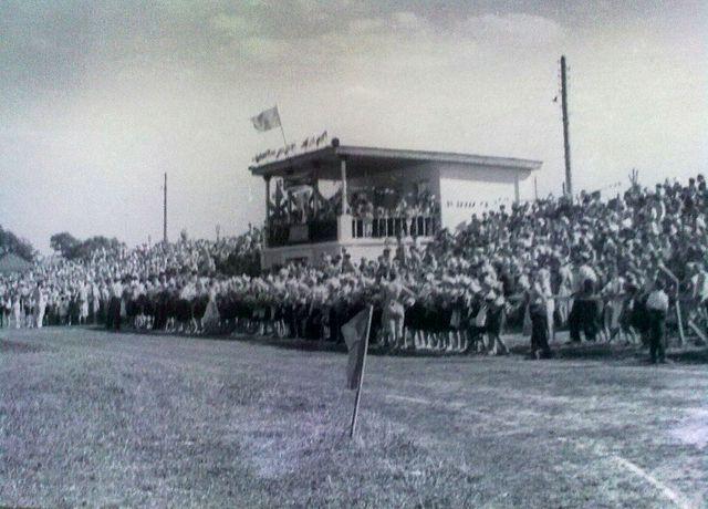 Золотоніський центральний стадіон у 1961 році