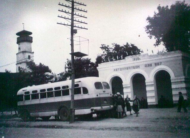 Золотоноша автопавілйон 1958 рік