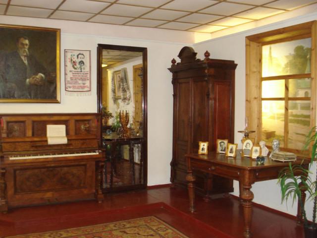 Музей Михайла Старицького у Кліщенцях