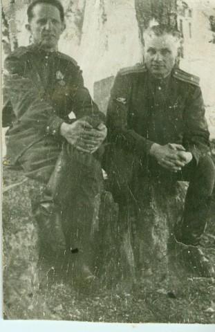 Скляренко на фронті