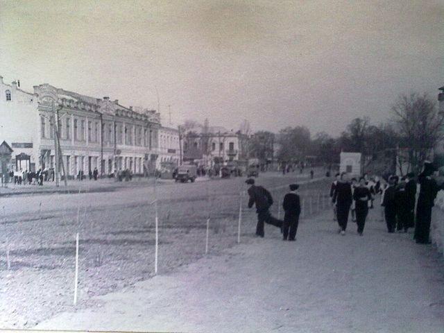 Золотоноша вулиця Шевченка 1963 02