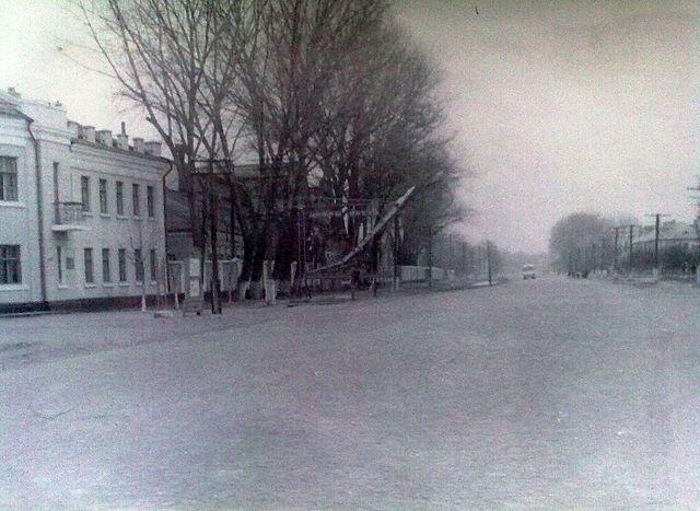 Золотоноша вулиця Шевченка 1963 03