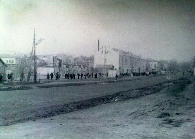Золотоноша вулиця Шевченка 1963 06