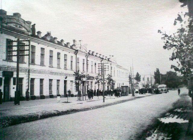 Золотоноша вулиця Шевченка 1963 09
