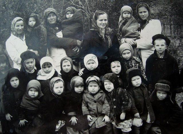 Вихованці дитячого садочка, 1959 рік