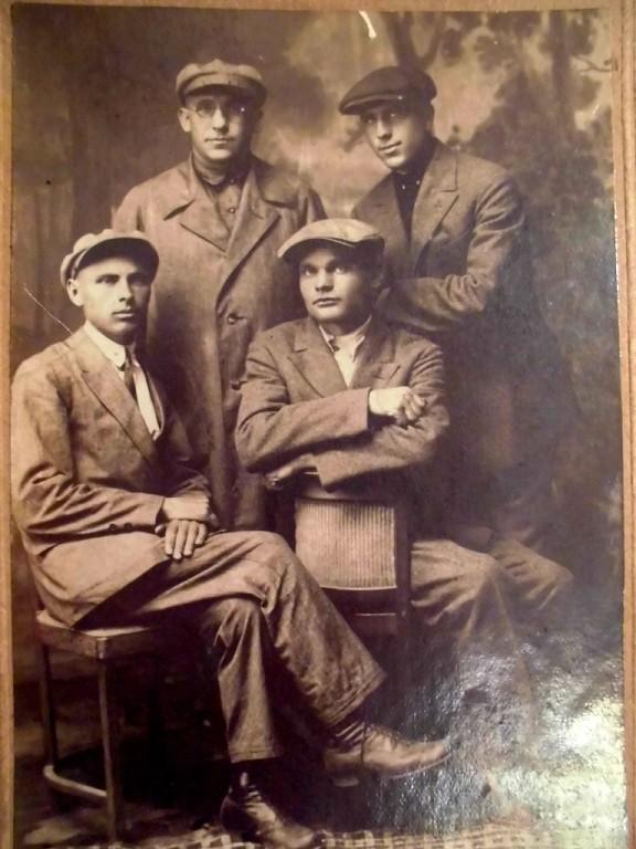Антипівські парубки, 1925 рік